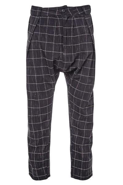 Checked Harem Pants