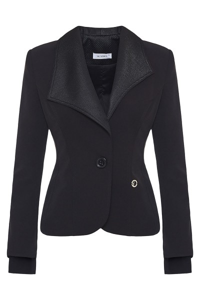 Fitted-Waist Jacket