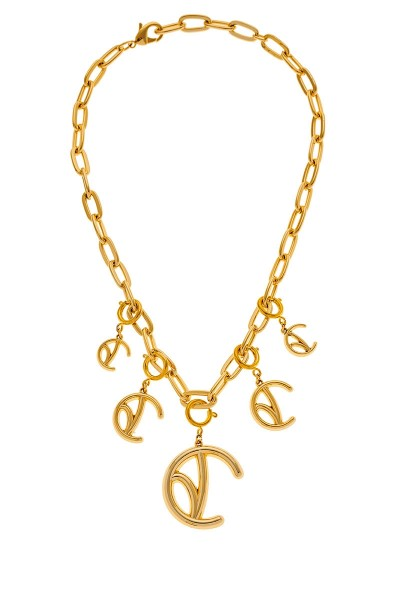 Valtadoros Chain Necklace With Detachable Monogram Pendants