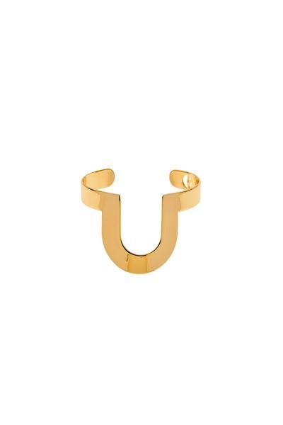 Valtadoros Semi-Oval Cuff Bracelet