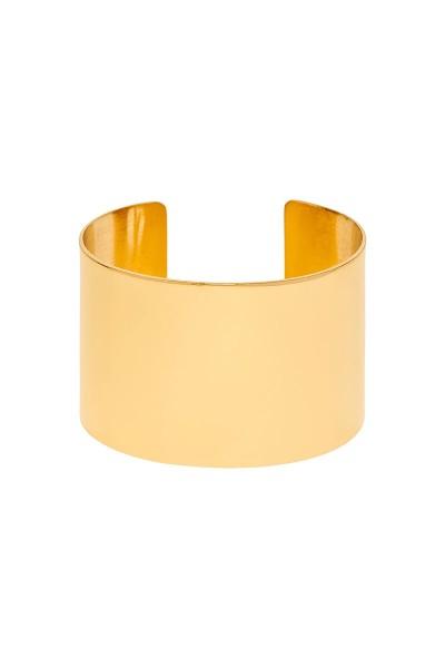Valtadoros Wide Cuff Bracelet