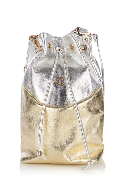 Cross-body Bucket Bag