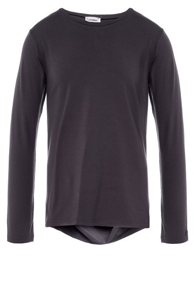 Long-Sleeved Drape T-Shirt