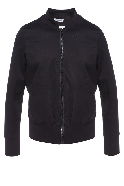 Pique Bomber Jacket
