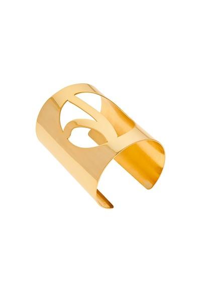 Valtadoros Monogram Statement Cuff Bracelet