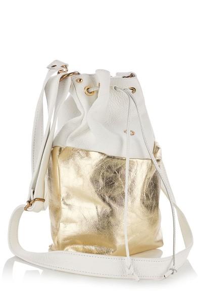 Cross-body Bucket Bag