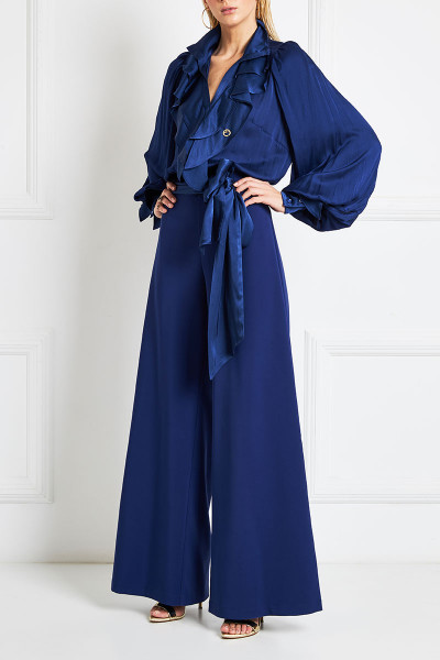 Ruffle Detailed Jumpsuit