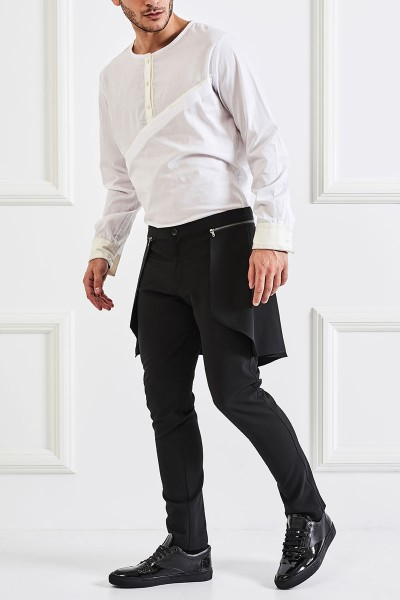 Overlay Tapered Pants