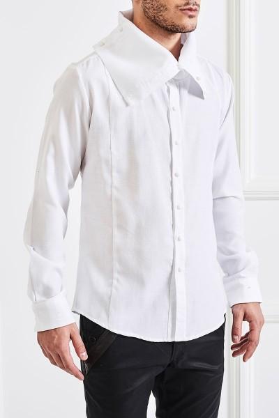 Turtleneck-collar Shirt