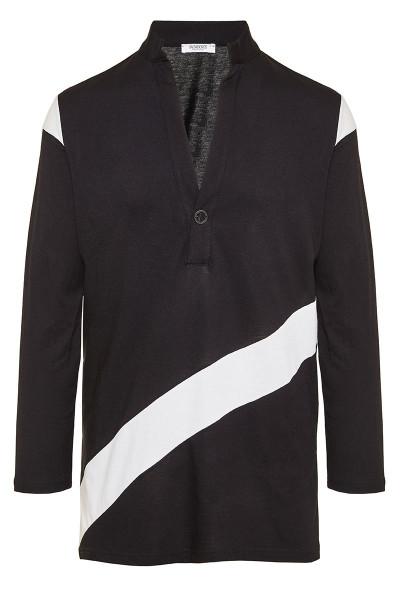 Color-Block Long Sleeve T-Shirt