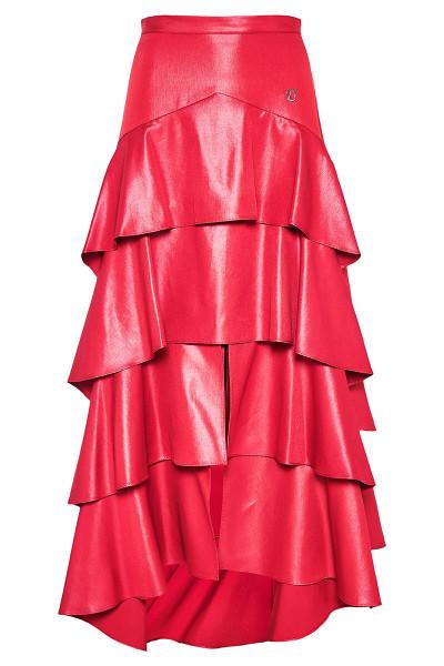 Ψηλόμεση Φούστα Με Βολάν