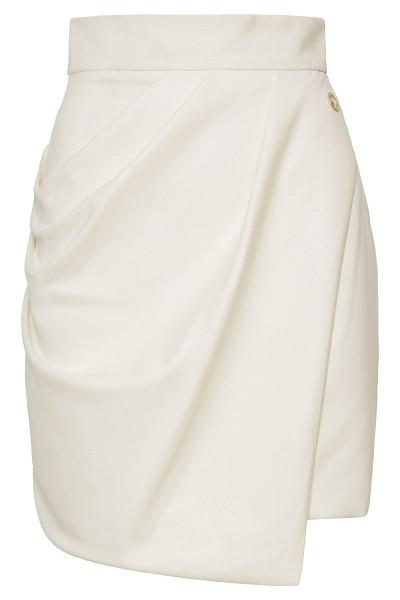 Ασύμμετρη Φούστα Με Ντραπέ Όψη