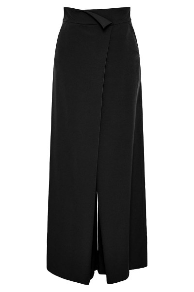 Ψηλόμεση Παντελόνα Κρουαζέ Με Κουφόπιετα