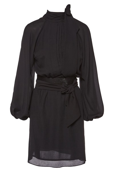 Κοντό Φόρεμα Ζωρζέτα