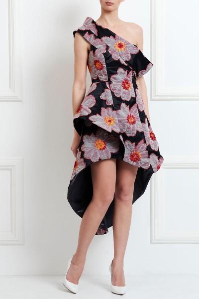 Φόρεμα Ασύμμετρο με Ένα Ώμο