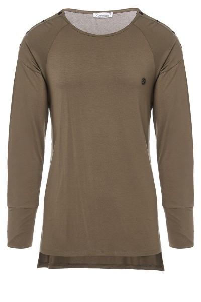 Μπλούζα με Κουμπιά στα Πλάγια