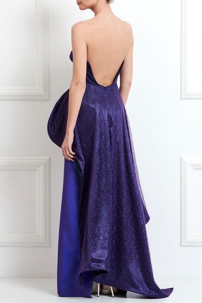 Φόρεμα Μακρύ Στράπλες