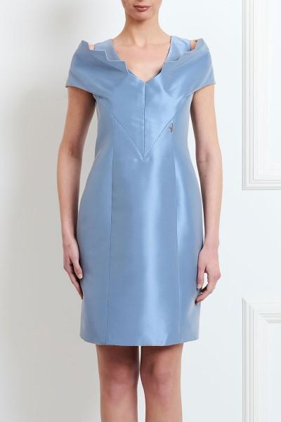 Φόρεμα με Γιακά - Μανίκι